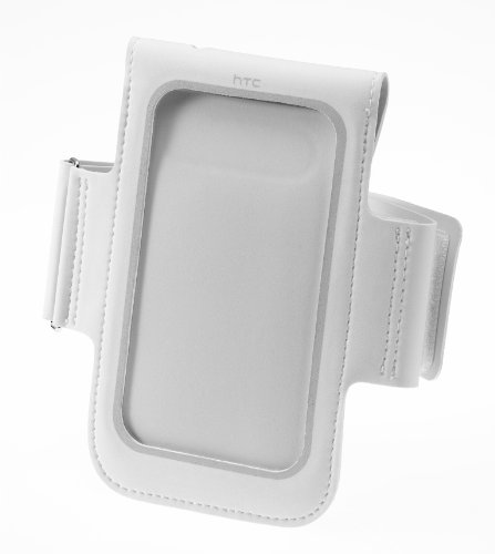 HTC AR B100 Armband Case für HTC Rhyme Smartphone weiß