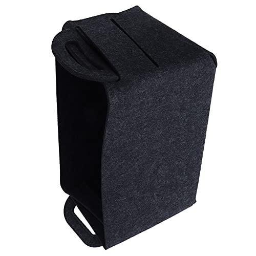 Organizador de ropa, fácil de transportar y recoger Conveniente para guardar ropa Canasta de almacenamiento de ropa Diseño plegable para hotel para estudio para viajes para el hogar