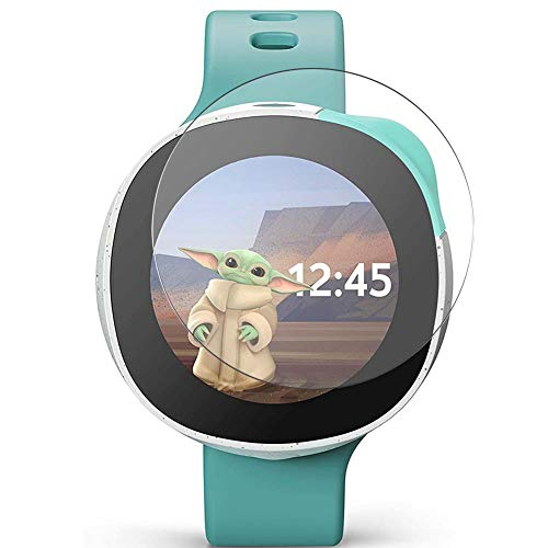 Vaxson 3 Stück 9H Panzerglasfolie, kompatibel mit Vodafone Neo Smartwatch Smart Watch, Panzerglas Schutzfolie Displayschutzfolie Smartwatch Armbanduhr
