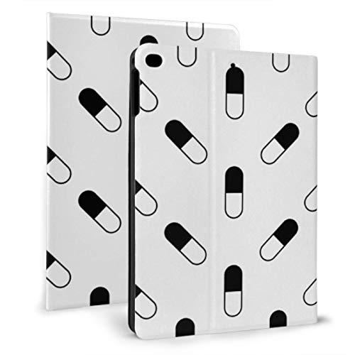 Ipad Case For Teens Creative Design Capsule Medicine Ipad Case Shockproof For Ipad Mini 4/mini 5/2018 6th/2017 5th/air/air 2 With Auto Wake/sleep Magnetic Pretty Ipad Case