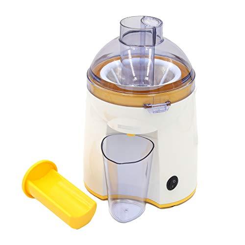 Dictrolux - Licuadora eléctrica para frutas y verduras, práctica y compacta, ideal para licuados auténticos, potencia de 200 W, color amarillo y blanco