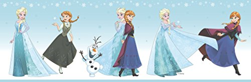 dandino fr3524–3Bordüre Kinder 'S Frozen Snow, blau, 25x 20x 20cm