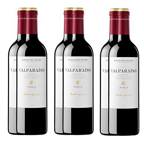 Pack Valparaíso Roble Vinos tintos D.O. Ribera del Duero (6 Botellas)