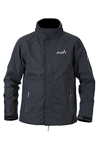 iFLOW Damen Glacier Jacket Dark Grey Women Ski Jacke, L