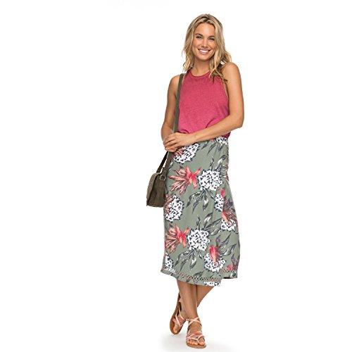 Roxy Damen Endless Valley Skirt Strickrock, Olivenhaus der Sonne, X-Klein