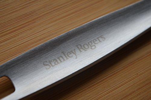 Stanley Rogers Schlitzwender 31 cm, Pfannenwender mit formschönen Design aus hochwertigem Edelstahl, Wender mit Premium Oberflächenveredlung in satinierter Optik (Farbe: Silber), Menge: 1 Stück - 5