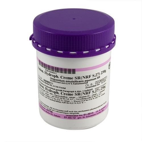 UNGUENTUM EMULSIFICANS aquosum SR (NRF S.27) (Hydrophile Salbe Wasserhaltig)