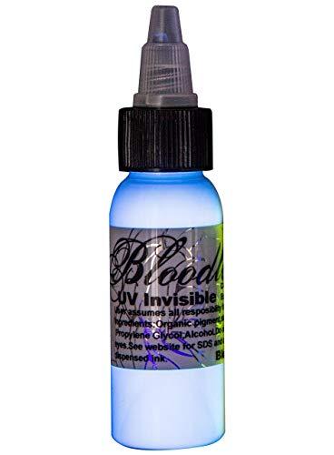 Bloodline UV Blacklight Colors Tattoo Ink - UV Invisible - 1/2oz