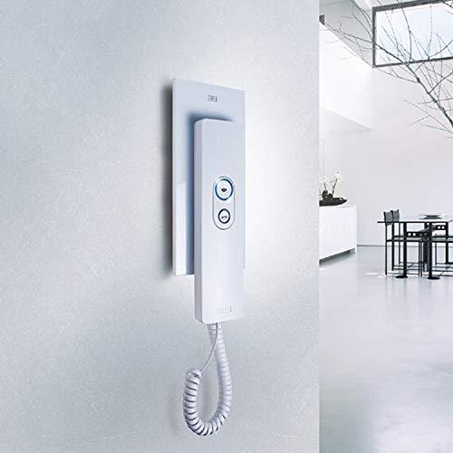 M-e modern-electronics ADV105WW - Stazione citofono interna, colore: Bianco