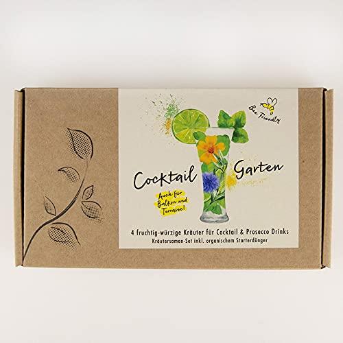 COCKTAIL GARTEN Geschenkbox - Samen von...