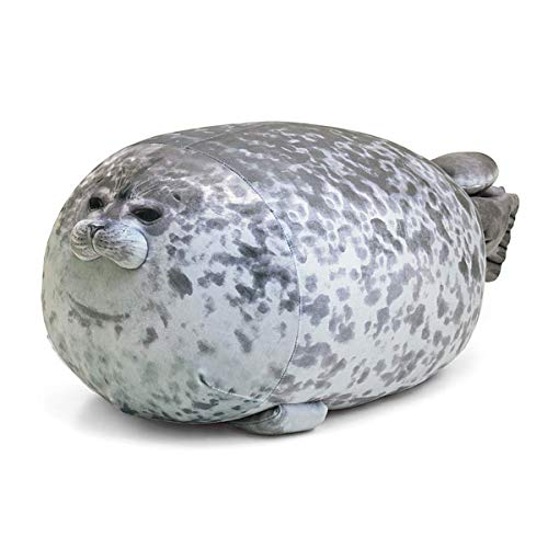 ARELUX Chubby Blob Seal Pillow,Realistic Stuffed Animal...