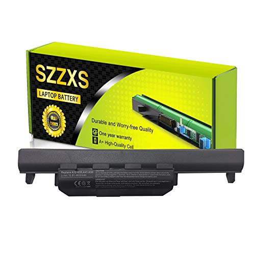 Batería A32-K55 A33-K55 A41-K55 para Asus R500V A45 A55 A75 K45 K55 K75 R400 R500 R700 U57 X45 X55 X75 X45 R5 R5000V D a75 u57-4400mAh 10.8V