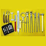 13 PCS Farrier Horse Hoof Kit Nippers and All Basic Farrier Tools for Trimming Shoeing