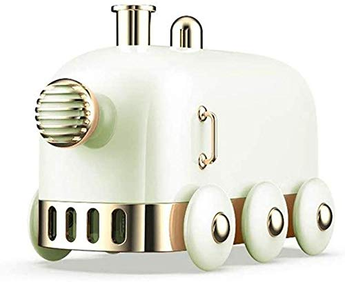 lndytq Humidificador Niebla Tanque de Agua Humidificador móvil Luz de Noche cálida Apagado automático Silencio Humidificador de Oficina (Color: Verde)