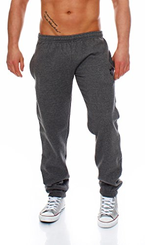 Gennadi Hoppe Herren Sporthose Trainingshose Jogginghose Pants Sweatpants,grau,XXX-Large