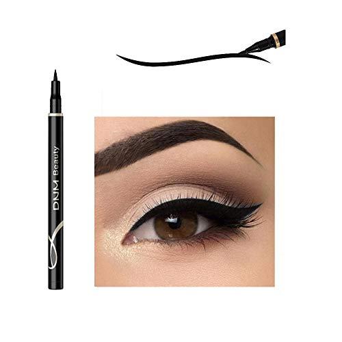 Cat Eye Makeup Waterproof Neon Colorful Liquid Eyeliner Pen Make Up Comestics Long-lasting Black Eye Liner Pencil Makeup Tools (black)