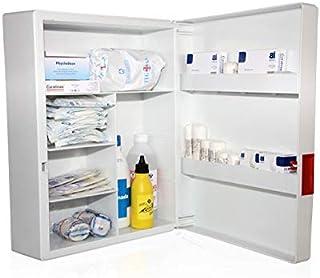 Armario botiquin primeros auxilios con dotación (395x307x163)