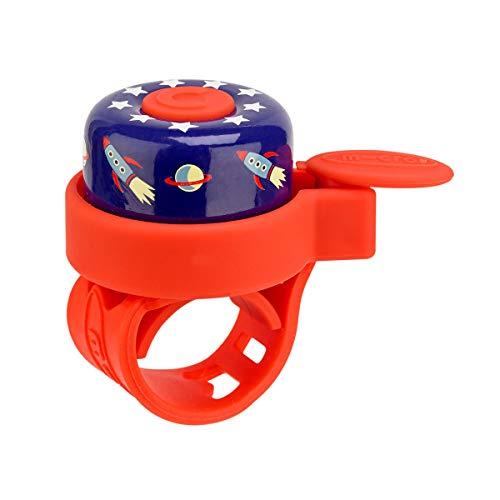 Micro Bell - Timbre para Manillar Patinete/Bicicleta Infantil (Rocket)