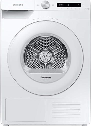 Samsung DV5000T DV90T5240TW/S2 Wärmepumpentrockner 9 kg/A+++ / Simple Control mit WiFi und Auto Cycle Link/Digital Inverter Motor mit 10 Jahren Garantie/Knitterschutz und Komfort 2-in-1 Filter