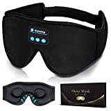 Sleep Headphones,3D Sleep Mask Bluetooth 5.0 Wireless Music Eye Mask, LC-dolida Sleeping Headphones...