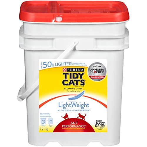 Tidy Cats 24/7 Performance Lightweight Cat Litter for Multiple Cats - 7.71 kg