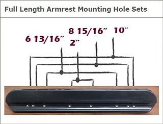 Armrest Pads, Padded, Full Length / 14