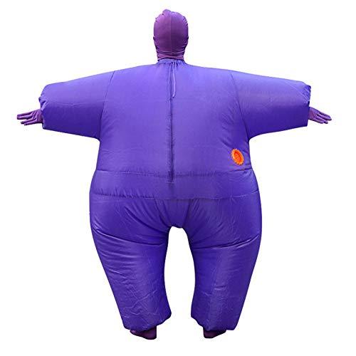 Happyshop 18 aufblasbare Ganzkörper-Kostüm, aufblasbar, lustige Halloween-Kostüme, Erwachsene, lustiges Aufblas-Anzug für Cosplay, Streich, Geschenk
