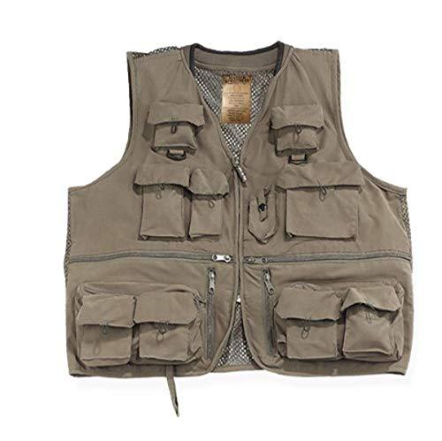 Master Sportsman Alpine Fishing Vest (Olive, X-Large)