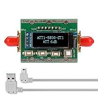 1MHz-3800MHz無線周波数デジタルプログラム可能な減衰器0-31dB調整可能なステップ1dB PC制御可能なCNCシェル