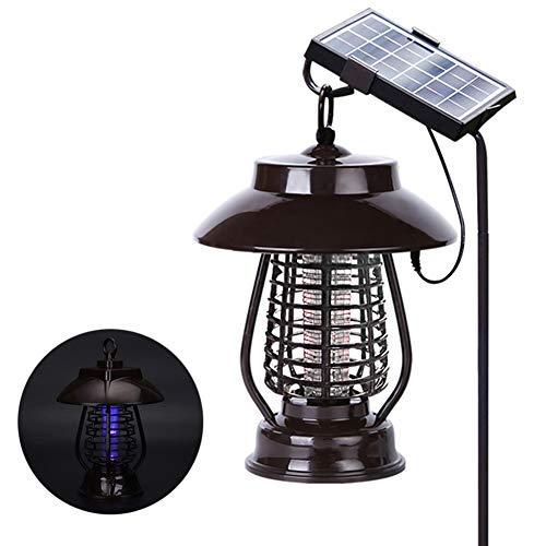 KAR Sonnenenergie-Moskito-Mörder-Licht Moskitorepeller Licht Insekt Töten Lampe Für Hanging Gardens Plätze Im Freien Pest Reject