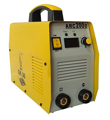 GK 36 & CO 200 AMPS IGBT Single Phase Welding Machine with Standard Accessories