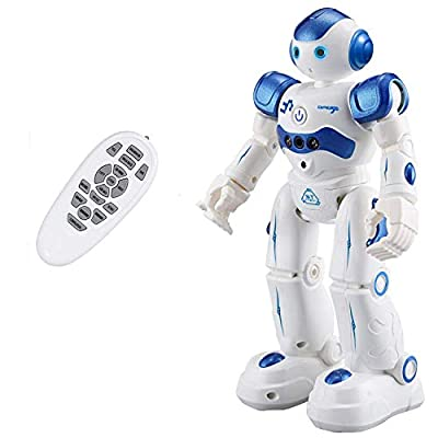 Taiker Robot for Kids, Intellectual Gesture Sensor & Rechargeable Robot Toys for Kids with Walking, Sliding, Turning, Singing, Dancing, Speaking and Teaching Science by TAIKER