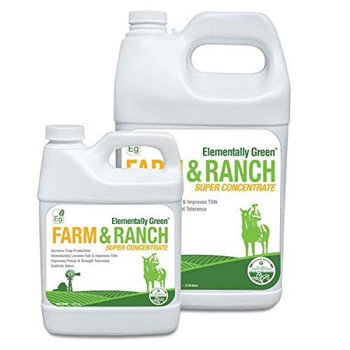 Elementally Green Farm and Ranch Super Concentrate | Made in The USA Farms | Multi Uses (Gallon)