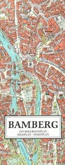 Stadtplan Bamberg in 3D von Bollmann