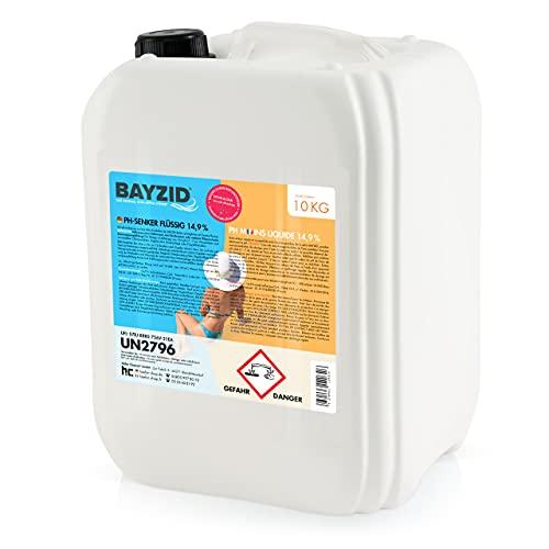 Höfer Chemie 1 x 10 kg BAYZID pH Senker Minus 14,9% Pool & Schwimmbad zur Senkung des pH Werts