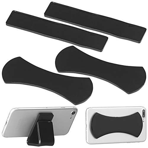 Callstel Haftpad: 4er-Set Anti-Rutsch-Pads für Smartphone und Tablet-PC, selbstklebend (Gel-Handyhalterung)