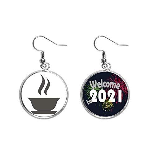 Ohrringe, Design Hot Tee, China, Art-Deco-Stil, Geschenk, modischer Ohranhänger, Schmuck 2021 Segen