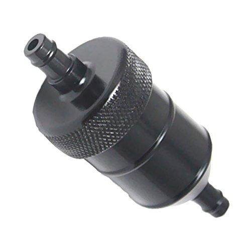 Kraftstofffilter Benzinfilter 8mm Universal für Motorrad - Schwarz