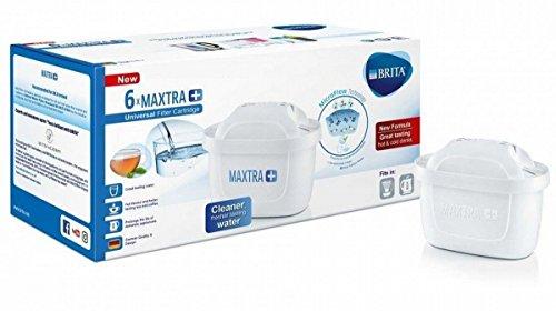 BRITA MAXTRA PLUS カートリッジ ブリタ マクストラ プラス 6個セット 日本語説明書付 [並行輸入品]
