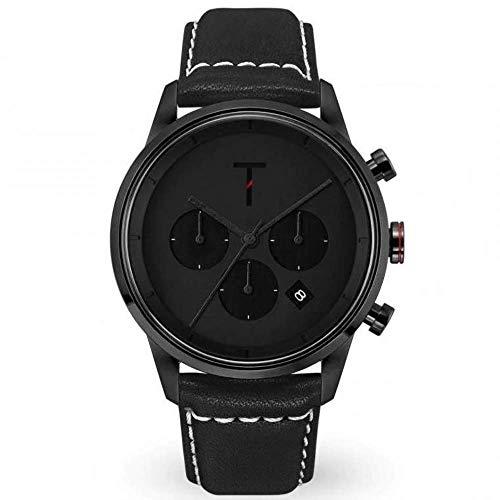 Tylor Watches Men's Tribe Tlac006 Ανδρικο Μαυρο Ρολοι Quartz