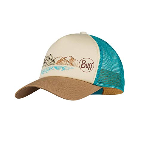 Buff Trucker cap Berretto, Brown, One Size Donna