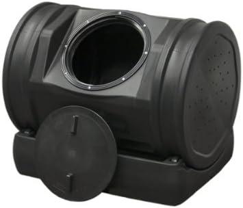Good Ideas Smp Blk 7 Cubic Foot Compost Wizard Jr Soil Machine Pro Black Outdoor Composting Bins Garden Outdoor