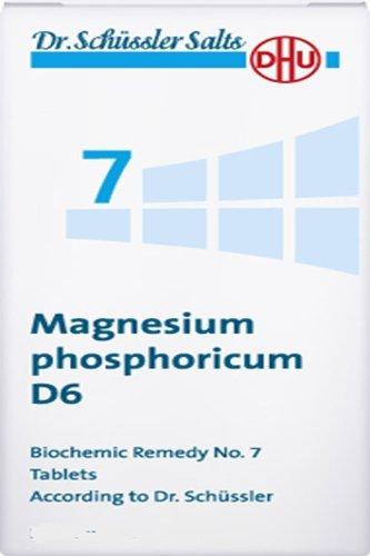 Dr. Schuessler sales 7 Magnesio fósforo D6 Calambres Espasmos de los músculos Dolor 200 cucharadas