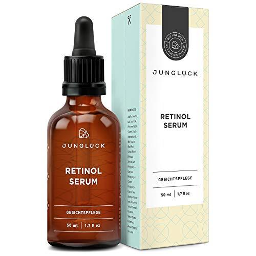 junglück - siero viso vegan al retinolo - con vitamina A e aloe vera...