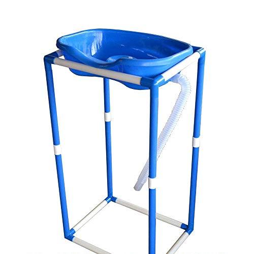 IF.HLMF Ifhlmf Letto Shampoo Sedia Letto Vecchio Shampoo vortice casa Gonfiabile Orizzontale Prodotti per la Cura Anziani Adatto per Donne anziane Incinte con disabilità