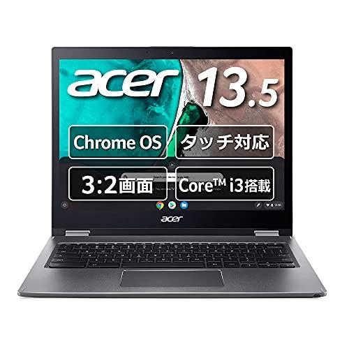 Chromebook クロームブック Acer ノートパソコン 13.5型 英語キーボード Spin 13 CP713 スティールグレイ グーグル Google CP713-1WN-A38P/E