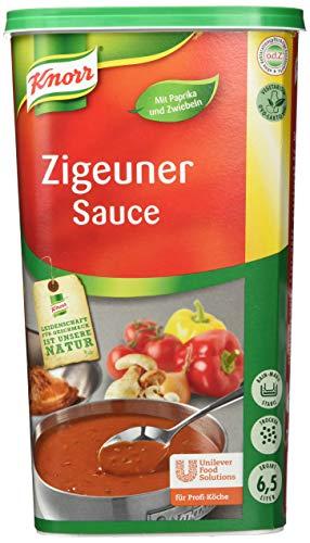 Knorr Zigeuner Sauce (mit ausgewogenem Geschmack, vegetarisch) 1er Pack (1 x 1 kg)