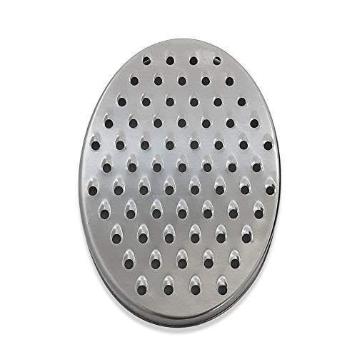 Cheese Grater with Storage Container – Black - Perfect for Hard Parmesan or Soft Cheddar Cheeses, Ginger, Vegetables, Butter, Chocolate & Nutmeg