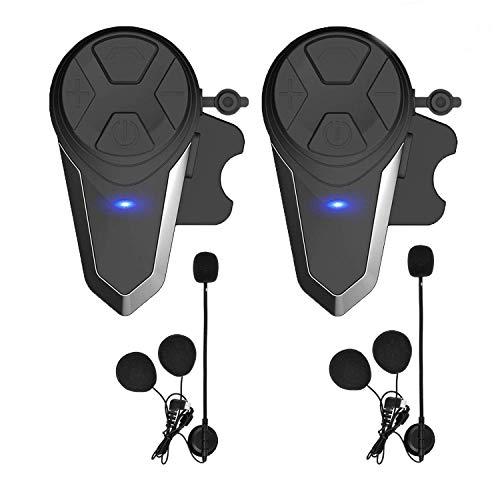 KOEITT - Auriculares Bluetooth para Motocicleta, BT-S3, 1000 m, para Motos de Nieve, Motocicletas, Sistema de comunicación Bluetooth, intercomunicador de esquí, hasta 3 Conductores