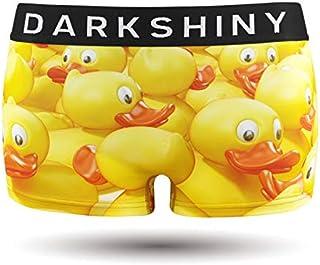 [DARK SHINY(ダークシャイニー)] ボクサーパンツ レディース YELLOW DUCK あひる (YLLB03)